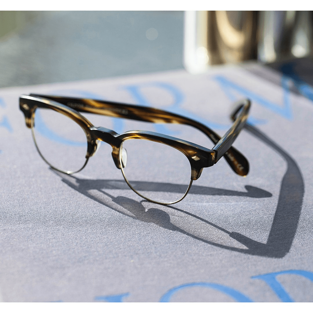 Oliver Peoples - Hendon LA Semi- Matte Cocobolo/Antique Gold
