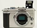 Olympus E-PL1 flitser