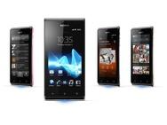 Sony Xperia J Zwart