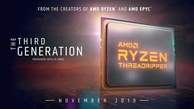 AMD Ryzen 3rd Gen Threadripper