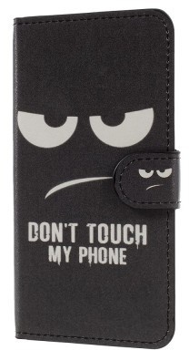 qMust Samsung Galaxy Xcover 4 Wallet Case - hoesje met stand - Do Not Touch
