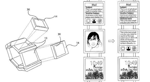 Nokia-patentaanvraag voor een smartwatch