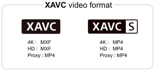 Sony xavc s profiel video codec open standaard