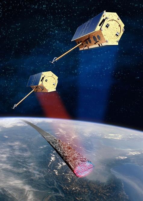 TanDEM-X satelliet