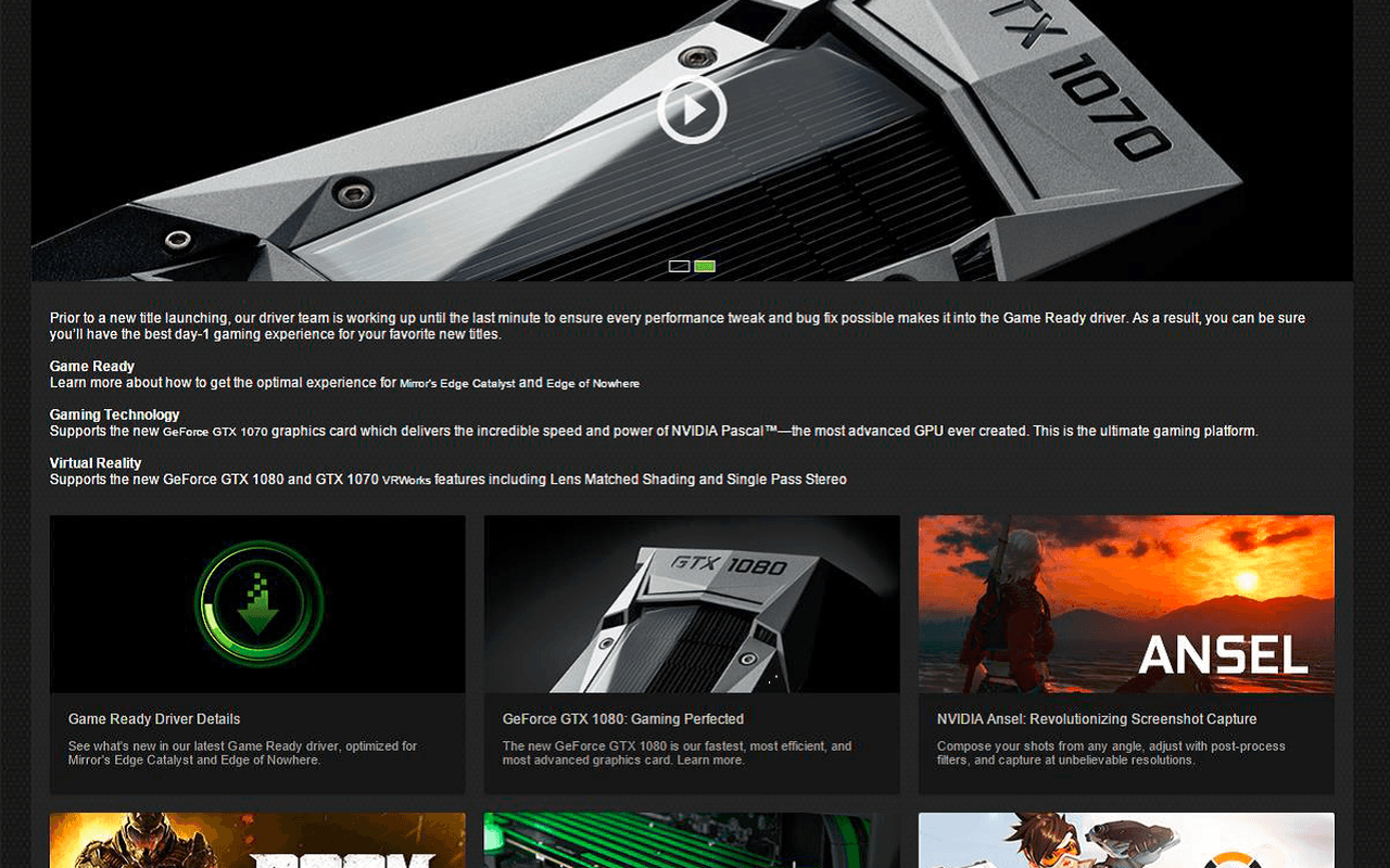 Nvidia GeForce Experience 3.0