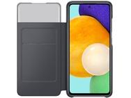 Samsung Galaxy A52 S-View Wallet Case  Zwart
