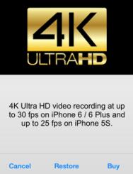 4k Ultra HD ProCam 2