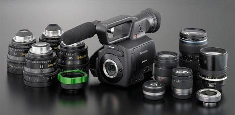 Panasonic AG-AF100 beschikbaar