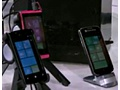 Windows Phone Mango-toestellen zoals getoond op Microsoft Worldwide Partner Conference