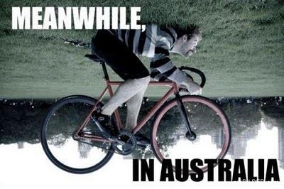 Ondertussen in Australië