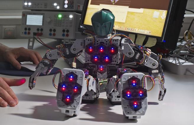 Robot met kunsthuid