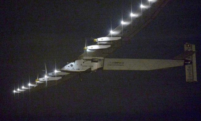 Vertrek Solar Impulse 2 vanuit Japan