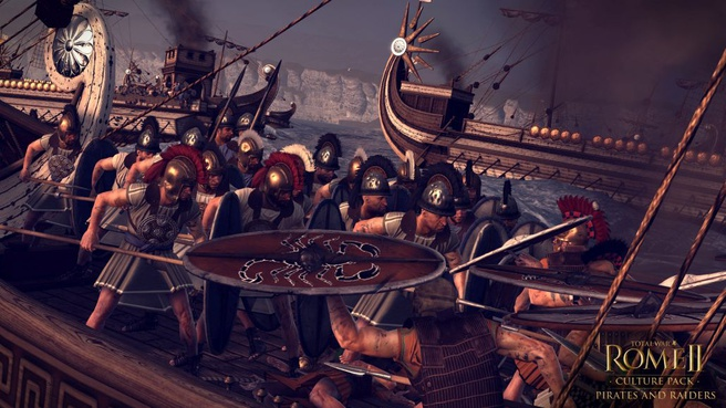 Total War: Rome II Pirates and Raiders