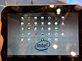 Intel Oak Trail tablet met Android Honeycomb