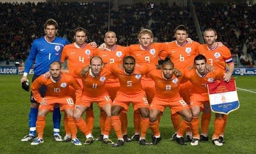 Selectie Nederlands elftal 2010