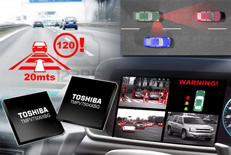 Toshiba beeldherkenningsprocessor auto