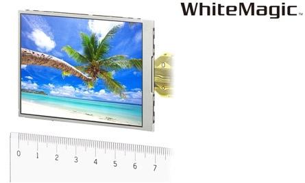 "Sony WhiteMagic 3""-rgbw-vga-lcd"