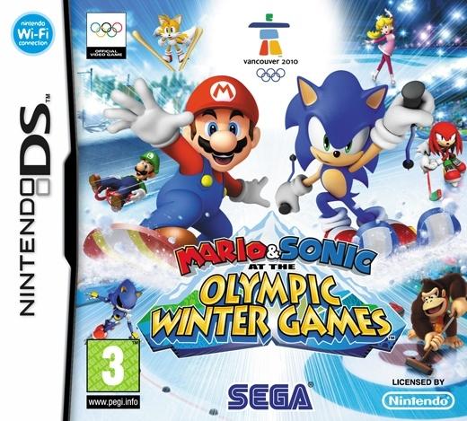 Packshot voor Mario & Sonic op de Olympische Winterspelen