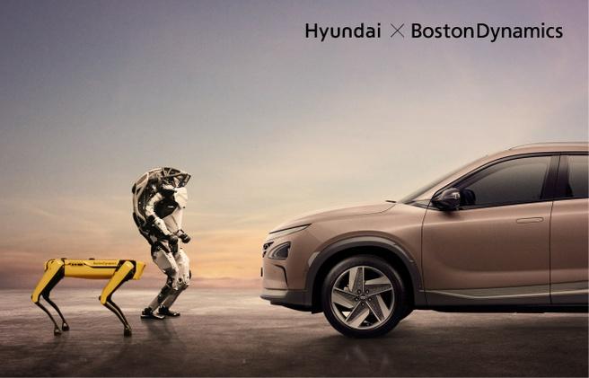 Hyundai en Boston Dynamics