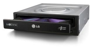 LG GH24NSD1 Zwart Zwart