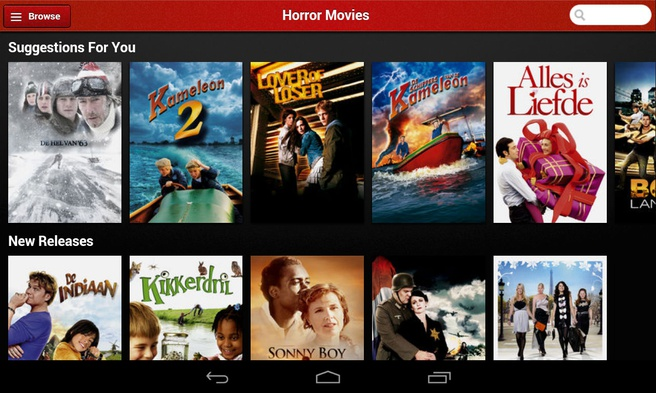 Aanbod Netflix NL