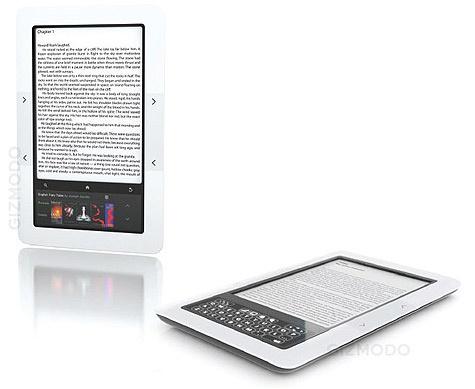 E-reader van Barnes & Noble