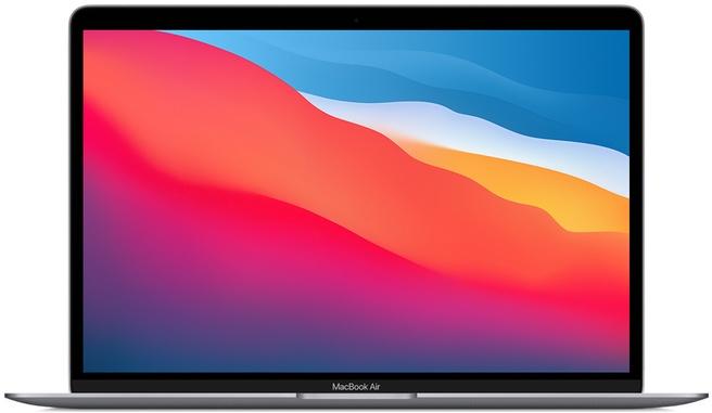 Apple MacBook Air 2020 M1, 8GB ram, 8-core GPU, 512GB ssd, Grijs