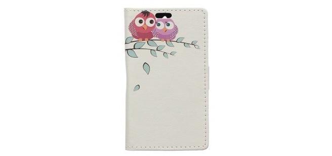 qMust Huawei Y360 Wallet Case - hoesje met stand - Adorable Birds