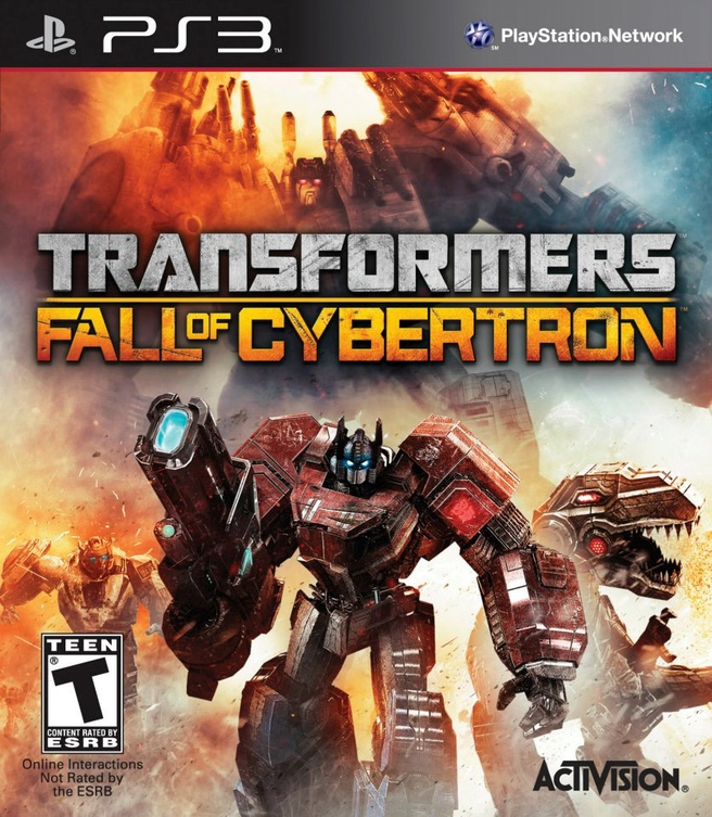 Transformers: Fall of Cybertron, PlayStation 3