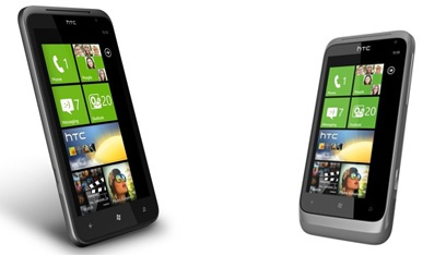 HTC Titan en Radar