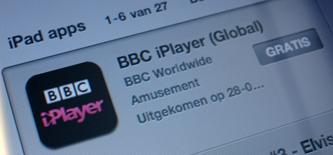 BBC iPlayer app internationaal