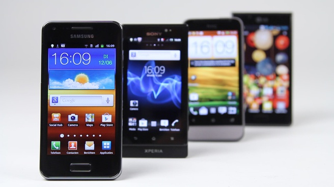 Shootout: mid-range Android-smartphones