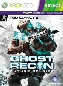 Ghost Recon: Future Soldier 'better with Kinect' cover