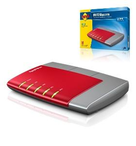 AVM Fritz!box AVM Fritz!Box 2170 bis 8 MBit/s RJ-45 extern annex B (ISDN, Duitse Interface)