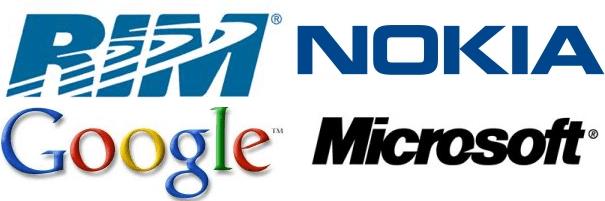 RIM Nokia Microsoft Google