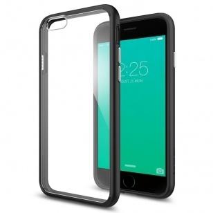 reputable site 2560d 9e3e9 Spigen Ultra Hybrid Apple iPhone 6s Plus Case - SGP11646 - Black ...