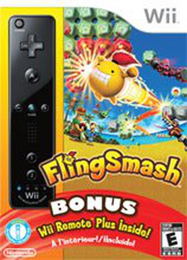 FlingSmash met Wii Remote Plus