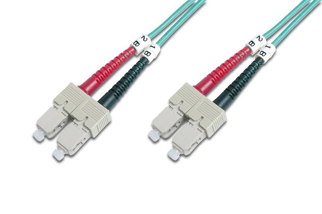 Advanced Cable Technology OM4, SC-SC, 50/125, 30m