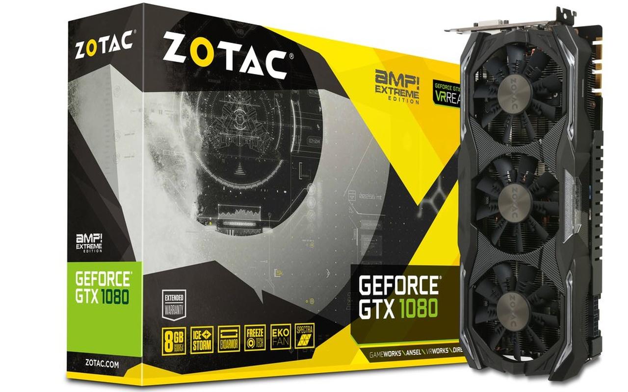 Zotac GTX 1080 AMP + AMP Extreme