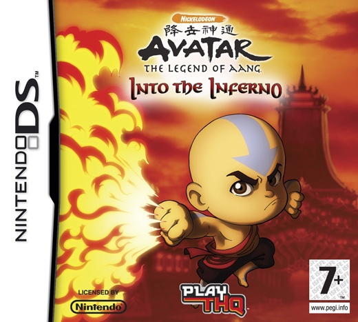 Avatar - The Last Airbender - Into The Inferno, Nintendo DS
