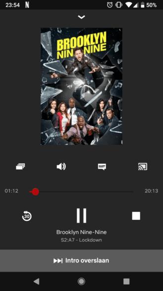 Netflix Chromecast introductie overslaan