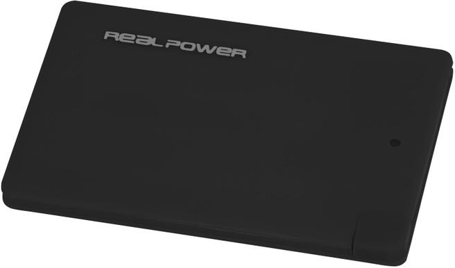 Ultron RealPower PB2500 Slim, Zwart