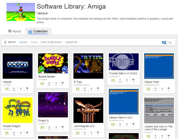 Internet Archive Amiga Collectie