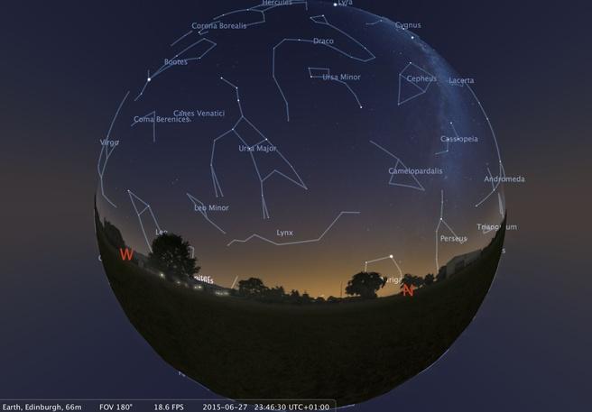 Edinburgh Stellarium