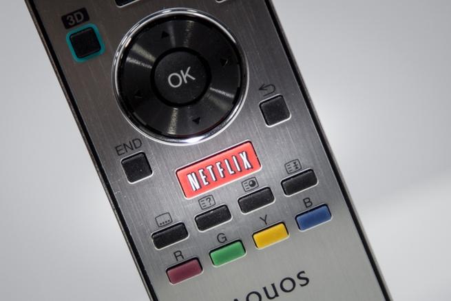 Netflix-knop