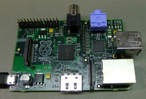 Raspberry Pi pcb januari