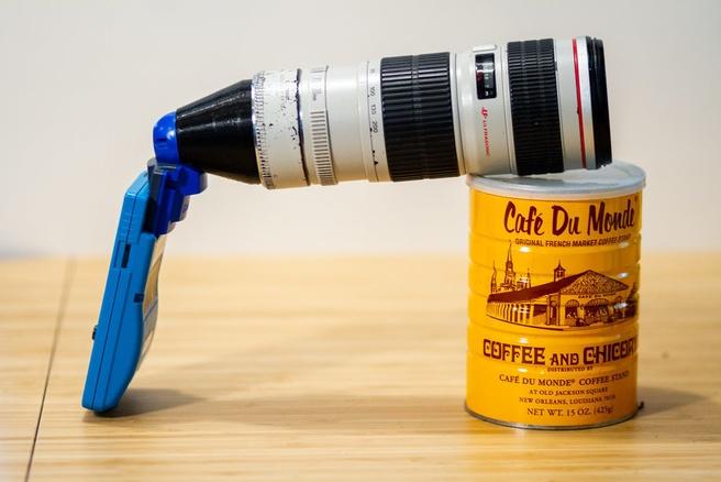 Game Boy Camera met grote lens