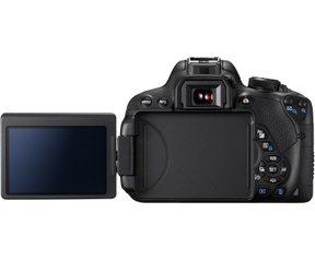 Canon EOS 700D + EF-S 18-55mm f/3.5-5.6 IS STM + EF-S 55-250mm IS Zwart