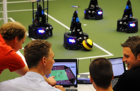 Tue voetbalrobotteam