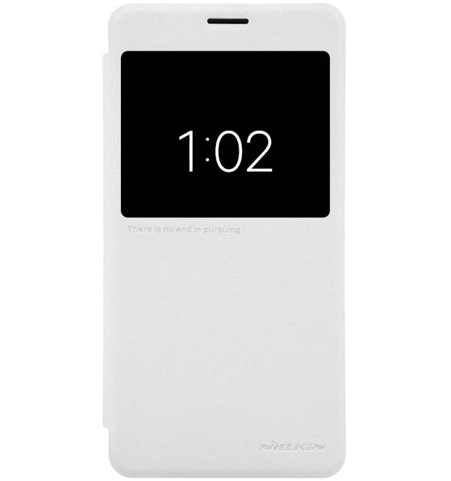 Nillkin New Sparkle Book Caser voor Xiaomi Note 2 - Wit Wit